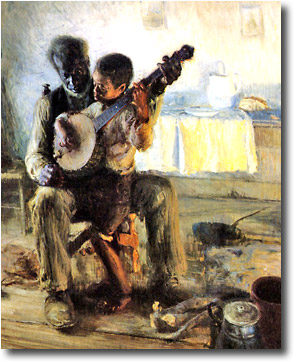 The Banjo Lesson- Henry Ossawa Tanner