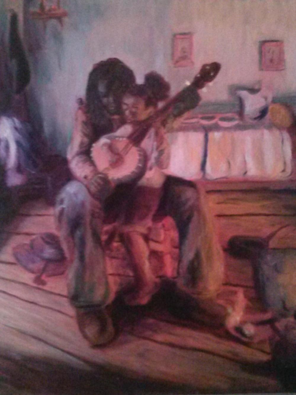 A Banjo Lesson Reinterpreted