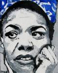 Maya Angelou in Oil