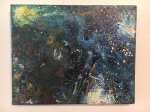 Oil Painting, Her Galaxies