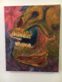 Oil Painting, Dia de la Muerte